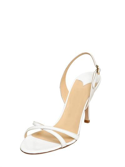 Cheap Modest White Wedding SHoes For Bridal Accessories Fashion CUstom Made Plus Size Ladies Bridesmaid Shoes Sexy Buckle Strap Sandals
