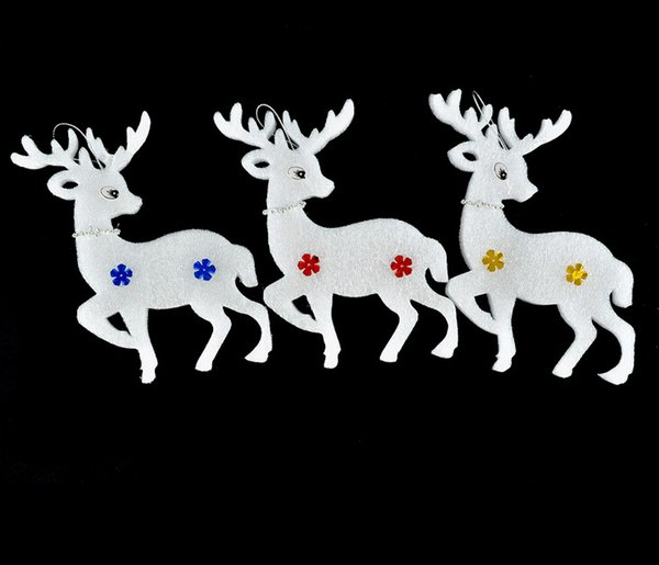 Christmas Charms Pendants Reindeer Star Santa Trees XMAS Jingle Bells Christmas Party Costume Christmas Tree Ornaments