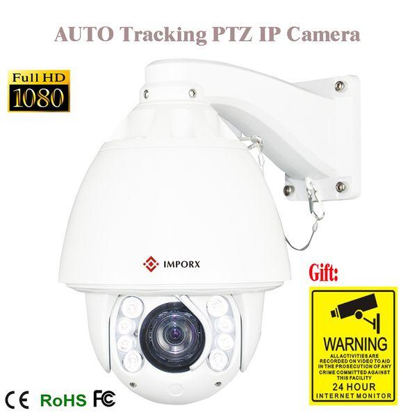 PTZ ip zoom pan tilt Kamera Ile 1080 p otomatik izleme ip PTZ Kamera 20x IP Ağ açık onvif plug sistemi
