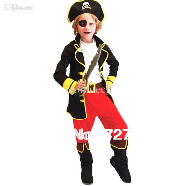 Wholesale-Free shipping halloween costume children cosplay costume role playing children party clothes retail pirate  sc 1 st  DHgate.com & Wholesale Halloween Costume Children Cosplay Costume Role Playing ...