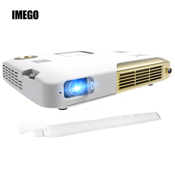 Wholesale- Support 4K 4096*2160 Android 1280*800 DLP 2200lumens Education interactive projector for school use