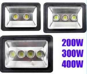 Factory Price Hot Sale 200W 300W 400W led Floodlight Outdoor LED Flood light lamp waterproof LED Tunnel light lamp street lapms AC 85-265V