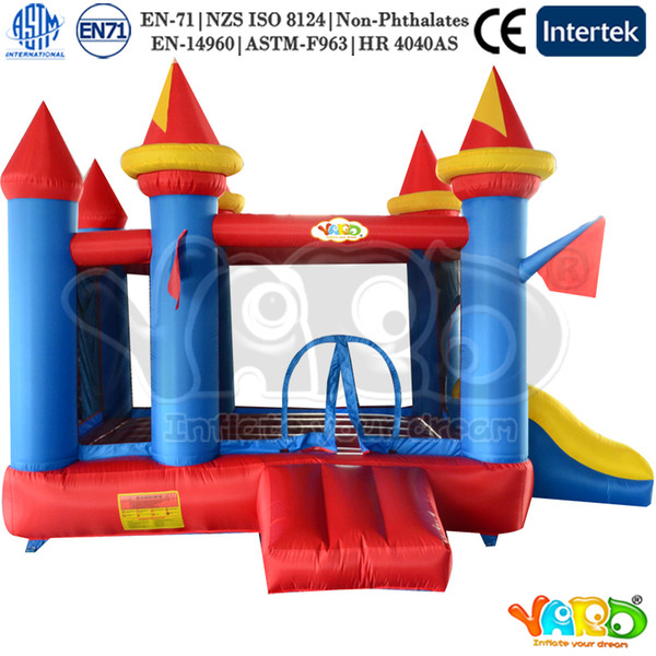 YARD residential bounce house bouncy castle inflatable bouncer jumper trampoline moonwalk with blower