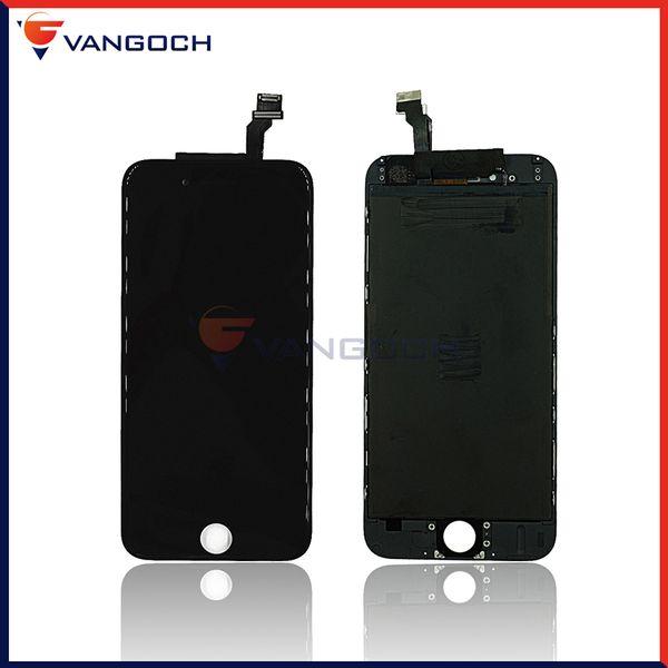 10 peças iphone 6g display lcd touch screen digitador assembléia com reparo quadro substituição para iphone 6 lcd frete grátis