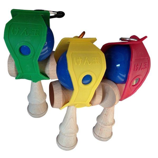 19CM Kendama Ball holder for Japanese Traditional Wood Game Toy Education Gifts KROM Kendama holder Kendamas pendant free shipping in stock
