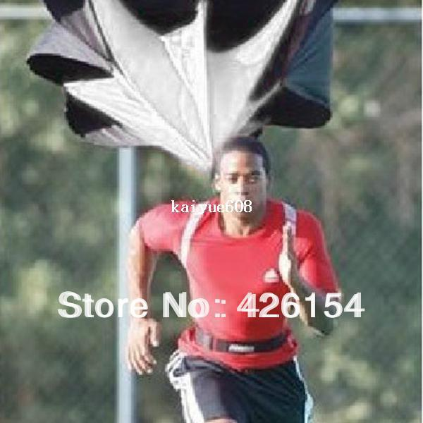 """Free Shipping New style 40"""" Speed Training Resistance Parachute Umbrella Running Chute Hot selling"""