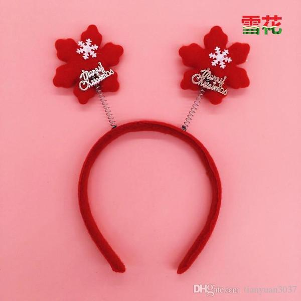 Santa Reindeer Antler Hat Deer Horn Christmas Cap Free Shipping New Gift TY1652