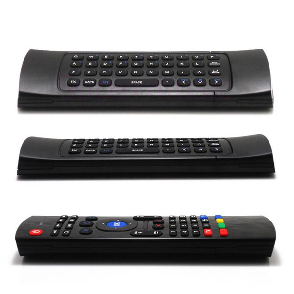 X8 Air Fly Mouse MX3 2.4GHz Wireless Keyboard Remote Control Somatosensory for MX3 MXQ M8 M8S Android TV Box Smart box 10pcs Free Shipping