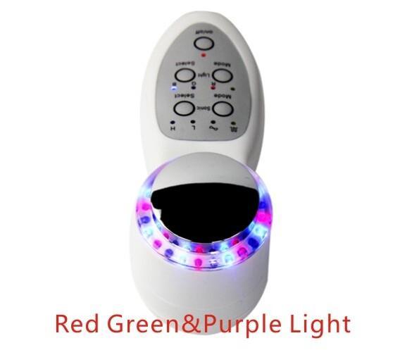mini Photon Skin Care Facial Massager LED Skin Rejuvenation 7 Mode Color Light Ultrasonic Skin Spa machine
