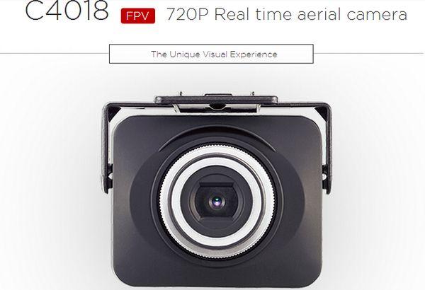 MJX C4018 PFV WIFI Caméra 1.0MP 720p HD Caméra Drone Partie pour MJX X101 X102 X104 X600 Quadricoptère RC C4008 Mise à niveau F18747
