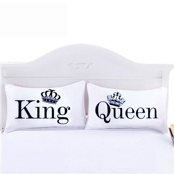 Queen King Pillowcase Decorative Body Pillow Case Plain Design Qualified Bedclothes 20inchx30inch Bedding Valentin