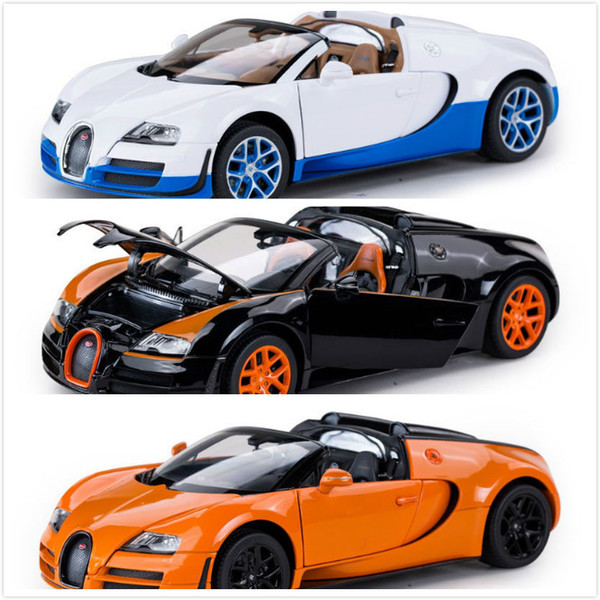Beautiful White Black Orange For Choice 2 Mix Color Excellent Sport Car Model Best  Boy Festival Gift