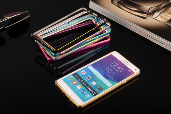 Aluminum Metal Alloy Bumper Frame Hippocampal buckle Case for iPhone 7/plus 6/6s Samsung Galaxy Note 7 S6 S7