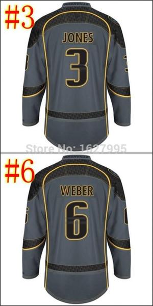 2015 Desconto Nashville Predadores Cross Check Premier Moda Storm Hockey Jerseys Atacado Bordados Logotipos Ordem Mix