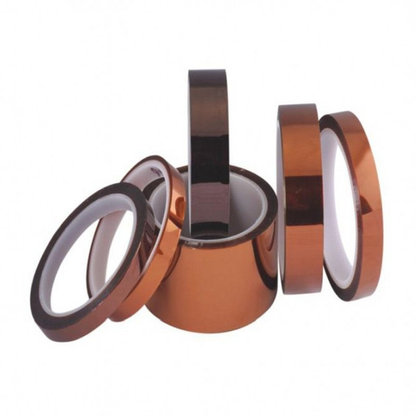 best selling 2016 wholesale price High Temperature tape 30 rolls Single Sided Kapton tape polyimide film Heat Resistant Tape, for BGA s