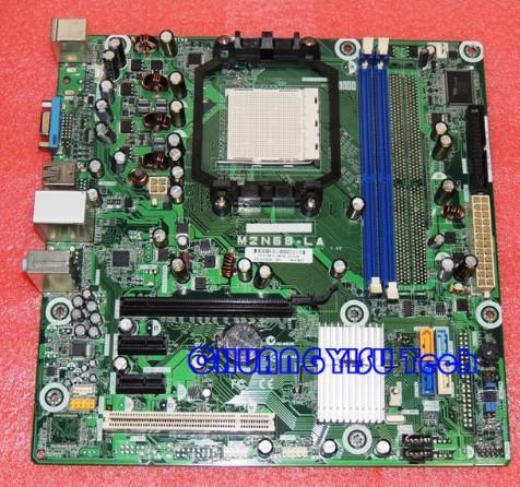 Placa de equipamento industrial para originais 513426-001 513425-001 615518-001 Motherboard M2N68-LA, AM2, DDR2 funcionam perfeitamente