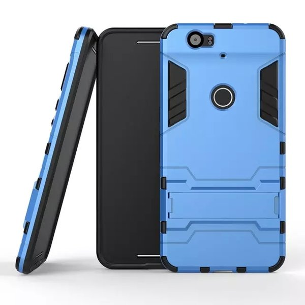 New Iron Man Robot Armor phone Cases 2 in 1 Stand Skin Holder Cover Hybrid Silicone case for iphone 7 6S Samsung S6 S5 HTC M9