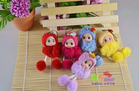 Pendente del telefono bambola all'ingrosso-confuso piccolo ciondolo moda carino giocattoli di peluche
