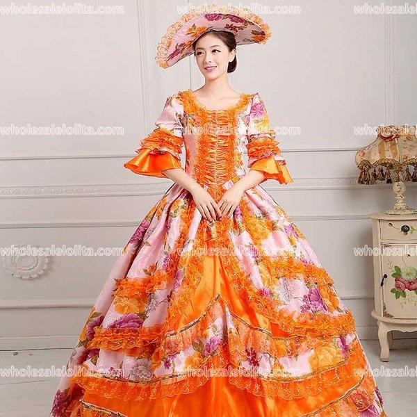 Großhandel 18. Jahrhundert Rokoko Stil Marie Antoinette Angespornte ...