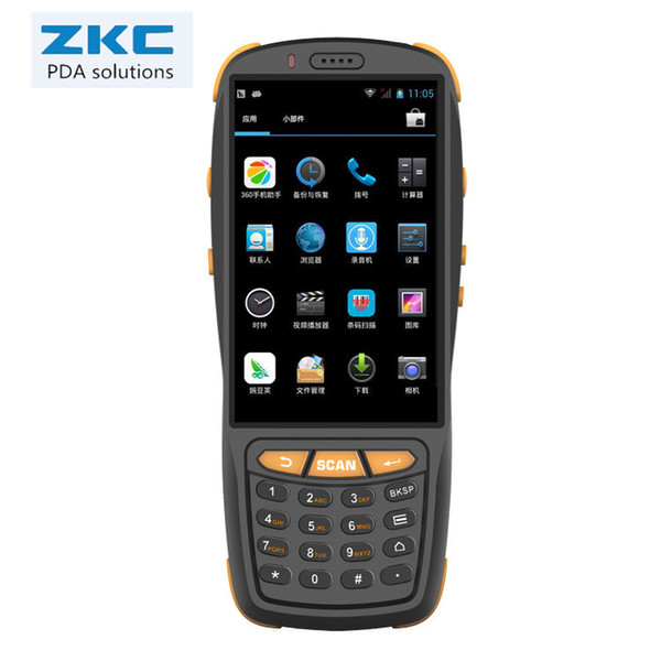 Wholesale- 4 inch touch screen handheld pda with 4G//WIFI/BT/NFC/barcode scanner
