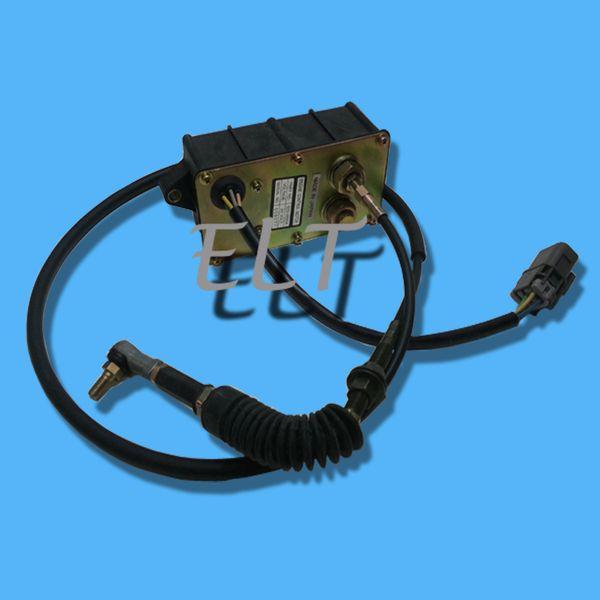 top popular Engine Control Motor 523-00004 Throttle Motor Actuator 2523-9019 Accelerator Fit Excavator Solar 170 LC-V DH170LC-5 2021