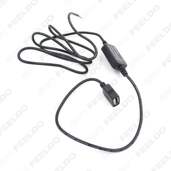LEEWA DC Dönüştürücü 12 V 5 V 3A USB Oto Güç Regülatörü Gerilim Adım Aşağı # 1566