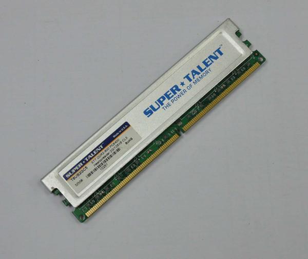 FREE SHIPPING Super Talent 2GB RAM 240-Pin STT DDR2-800 (PC2 6400) Desktop Memory with Heat spreater