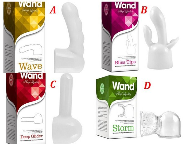 Removable Attachment Head for Hitachi Magic Wands Massager Adam & Eve 10 Speed Magic Wand Massager, Replacement Head,Tips Accessory