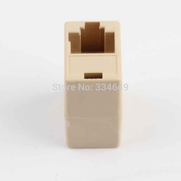Wholesale-RJ45 CAT 5 5E Extender Plug Newtwork Ethernet Lan Cable Joiner Coupler Connector Best Selling