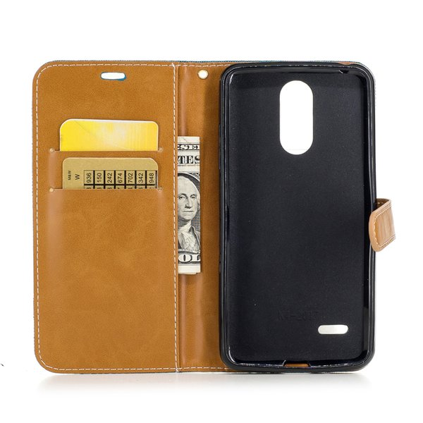 Flip Case For Lg K4 K 4 2017 Lgm160 Lg M160 M160 Phone Cases Leather Cover  For Lg Rebel 2 L57bl L58vl M151 Silicone Phone Bags Western Cell Phone
