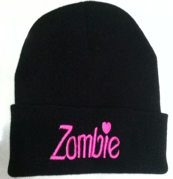 Wholesale-2015 Winter Beanie Zombie Cotton Hat For Men And Women Cap Bonnet Gorro Invierno Warm Skullies Knitted crochet