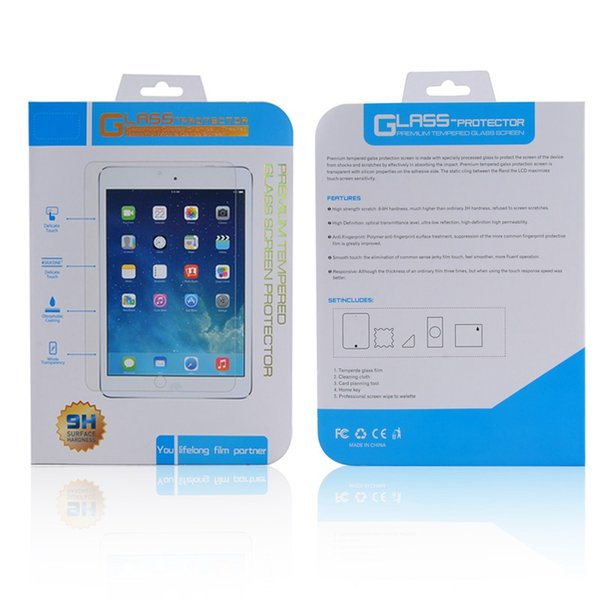 For Galaxy Tab 4 A 9.7 S 10.1 S2 inch Tempered Glass Screen Protector Film For Samsung 8.0 E
