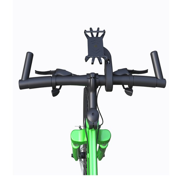 Universal Silicone Smartphone Stand Holder Bike Phone Mount for Diameter 10-48mm Motorcycle Bike Handlebars fit 4.7-6.0 inch Phone