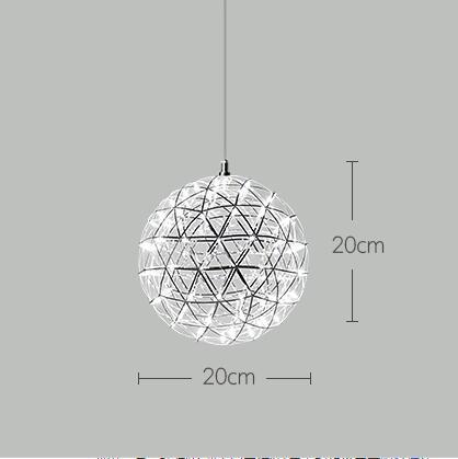 D20cm 12 LEDs