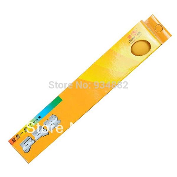 Atacado- 30 Pcs Duplo Peixe 1-Star (1 Estrela, 1 Estrela) Laranja 40mm Ténis De Mesa (Ping Pong) Bolas