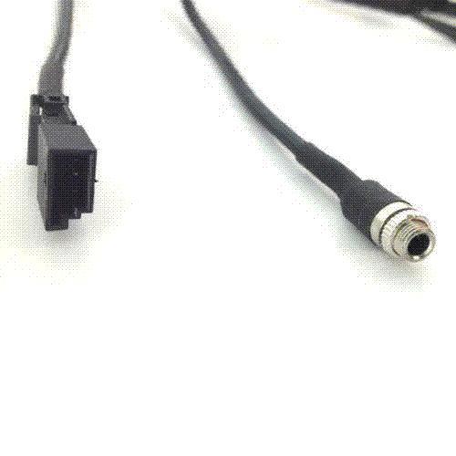 Auto 3,5 MM AUX Audio Kabeladapter Für BMW BM54 E39 E46 E53 X5 16: 9 CD Wechsler Neu
