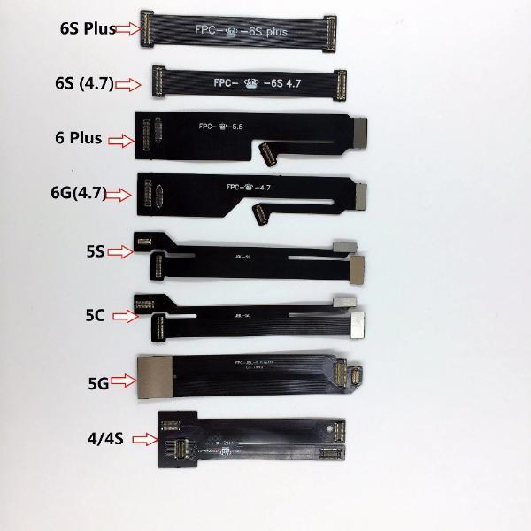 LCD Touch Screen Digitizer Lens Flex Test di estensione Tester Cable per iPhone 6S per iPhone 4 4s 5 5s 5c 6 6s Plus