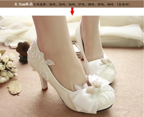 compre la nueva cabeza principal redonda calza los zapatos blancos