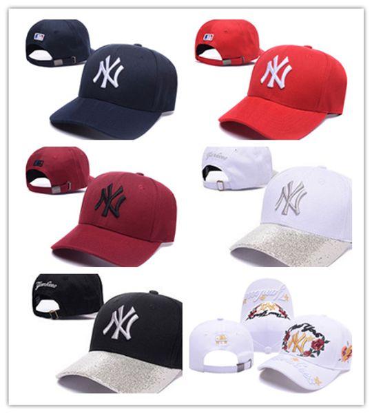 New Cayler Sons Baseballmützen Brooklyn Stickmützen Snapback Caps verstellbare Papa Hüte für Männer Knochen Hysteresen Knochen Gorras Mütze