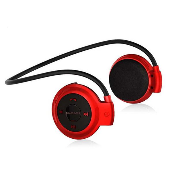 Nuevo llega Mini 503 Deporte Auriculares plegables inalámbricos Bluetooth Música bajo estéreo Auriculares + Tarjeta micro SD + Radio FM para iPhone Samsung