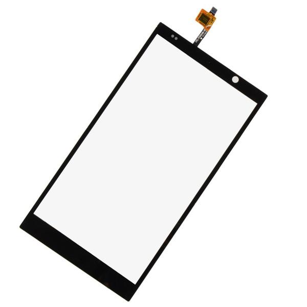 Al por mayor-Alta calidad! Nueva pantalla del digitizador de cristal de la pantalla táctil del panel frontal para HP Slate 6 VoiceTab VA632 T15