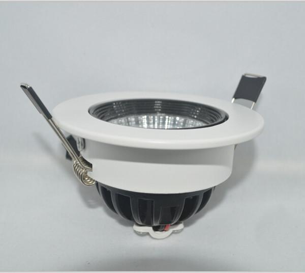 CE RoHS SAA FCC Onaylı led aşağı ışık yüksek CRI lümen güçlendirme 15 w mutfak koçanı led downlight