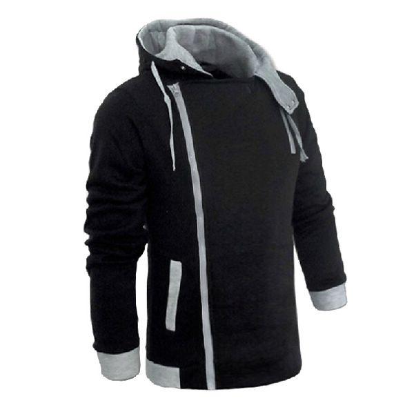 Erkek Fermuar Sonbahar Kış Moda Rahat Ince Artı Boyutları Hırka Assassin Creed Hoodies Kazak Kabanlar Ceketler Erkekler Ince Kazak