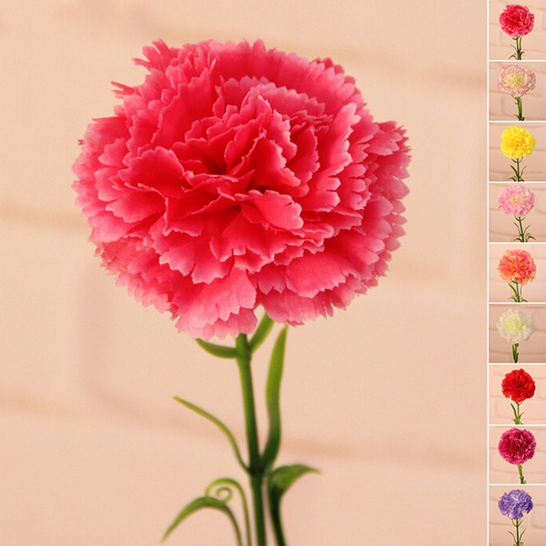 Promotion salesartificial flowers carnation bouquet silk flower promotion salesartificial flowers carnation bouquet silk flower for home living room party wedding mightylinksfo