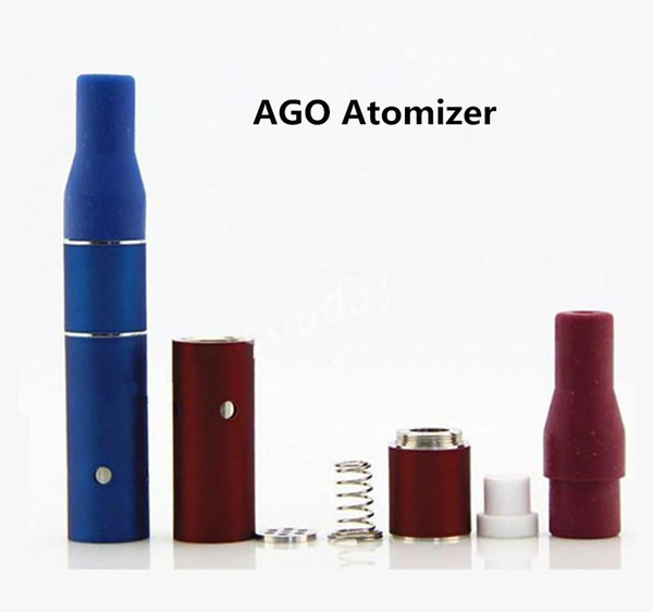 Mini AGO G5 Atomizer aGo G5 Vaporizer Clearomizer dry herb tanks vape mods for Electronic Cigarettes ugo eGo T C evod 510 battery