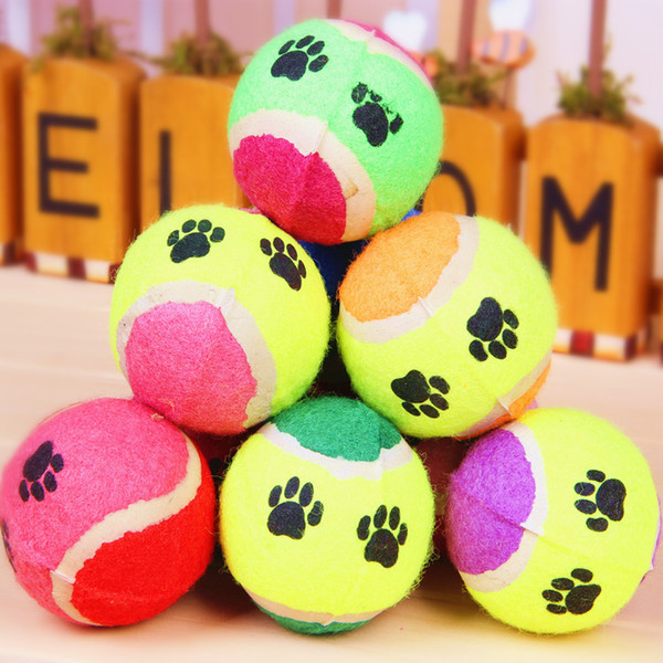 best selling Wholesale mixed colors Pet non-poisonous Ball Toys Dog Products Cat Toy Pet toys Children's Toys Dog Supplies