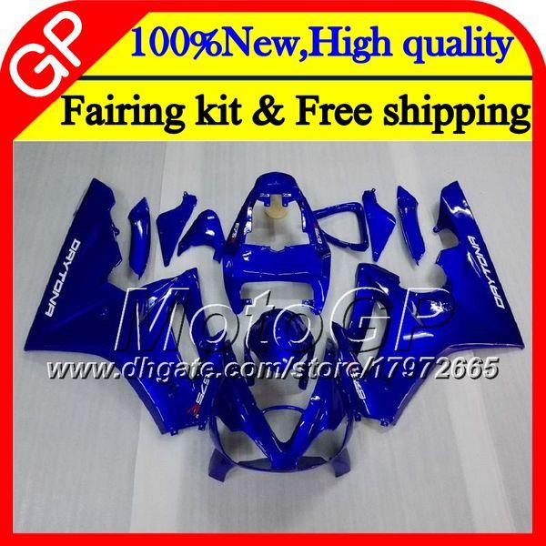 Body For Triumph Daytona 675 02 03 04 05 06 07 08 7GP11 Glossy blue Daytona 675 2002 2003 2004 2005 2006 2007 2008 02-08 Motorcycle Fairing