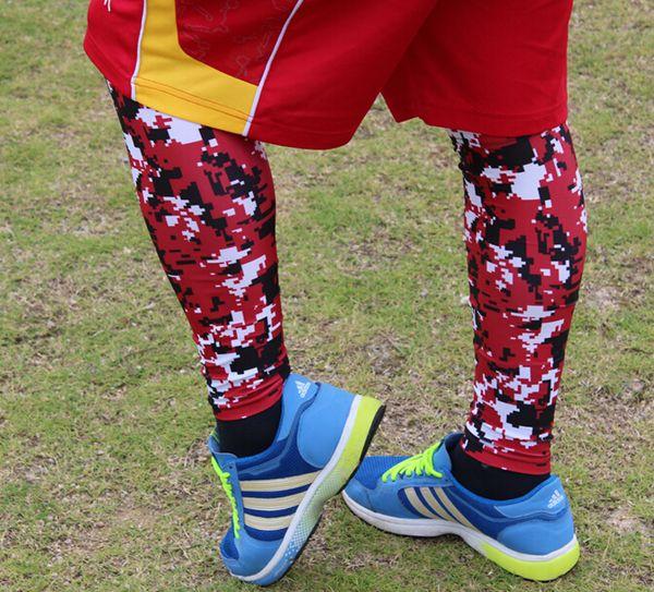 02d523c31d935 2015 new leg sleeve Compression Running Leg Sleeves Calf Shin Splint Womens  Mens Socks Track neon