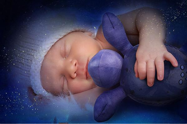 20pcs a bag Children baby sleep night light creative spirit lamp sea, ocean Star Projector lamp, speed sound of the waves