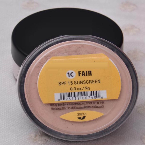 top popular IN STOCK 46 colors SPF15 SPF25 makeup Minerals powder original Foundation SHIMMER   MATTE foundation makeup powder DHL shipping free 2021